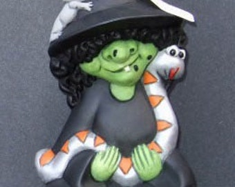 Small Witch with Snake
