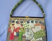 Vintage Altered Couture Handbag OOAK