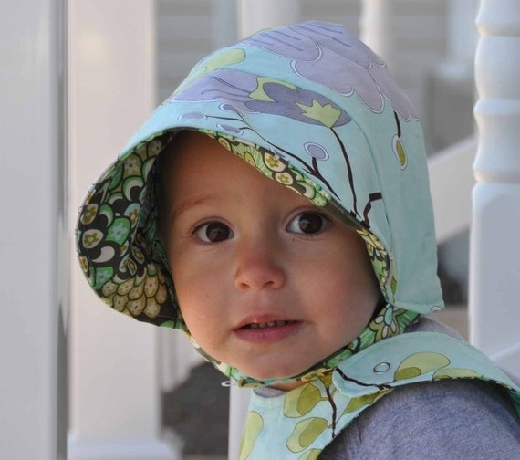 UB2    SWEET PEA  by The Urban Baby Bonnet AVAILABLE in ALL SIZES