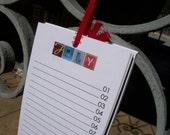 ransom note birthday calendar