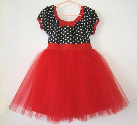 Nice Christmas Party Dresses: Items Similar To TUTU DRESS In Retro Black White Polka Dot