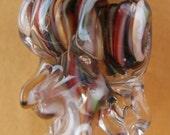 Beadtrap Boro Glass Pendant Waterfall Ruffles Made In The USA