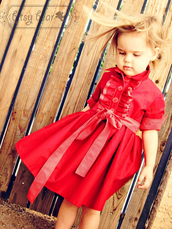 PRE-ORDER- Holiday Tuxedo Dress for baby, toddler, and girl