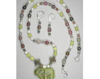 535R- Rev. 5:5 Lion of Judah Christian necklace set
