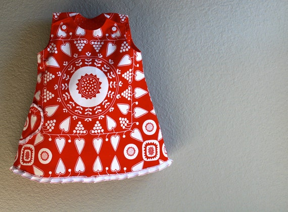 After Christmas sale 50 off  SALE  Queen of Hearts Size 2T  dress