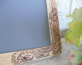 MEDIUM Rustic Western Paisley Chalkboards for Signs and Table Numbers or Photo Props - Item 1104