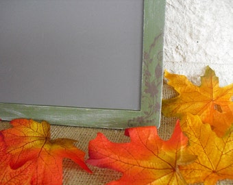 ONE LARGE Fall Shabby Chic Chalkboard for Signs and Table Numbers or Photo Props,Great Designer Chalkboards - Item 1310