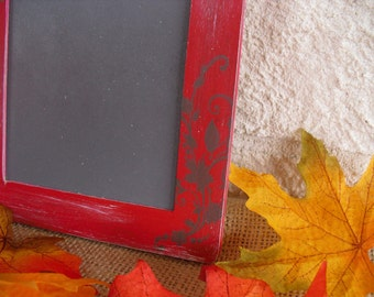 SMALL Fall Shabby Chic Chalkboards for Signs and Table Numbers or Photo Props - Item 1099