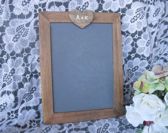 MEDIUM Rustic Personalized Chalkboards for Signs and Table Numbers or Photo Props - Item 1377