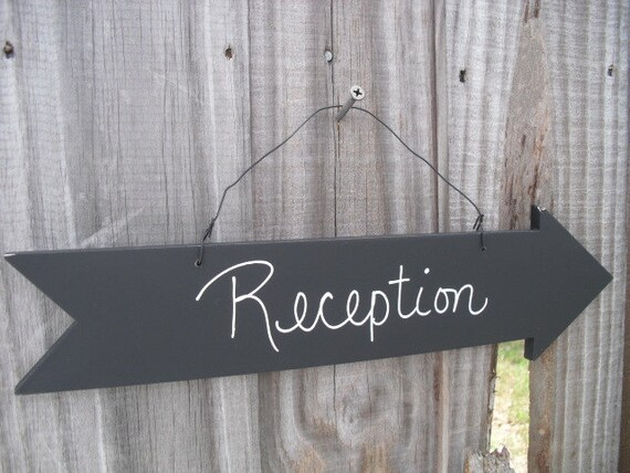 Chalkboard Arrow  Wedding Sign, Candy Bar Sign, Party Sign,Reception Chalkboard Sign ,Dessert Bar Photo Prop- Item 1337