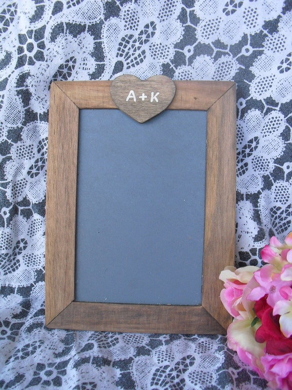 SMALL Rustic Personalized Chalkboards for Signs and Table Numbers or Photo Props - Item 1375