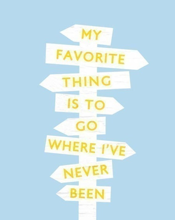 Where I've Never Been - Diane Arbus Quote