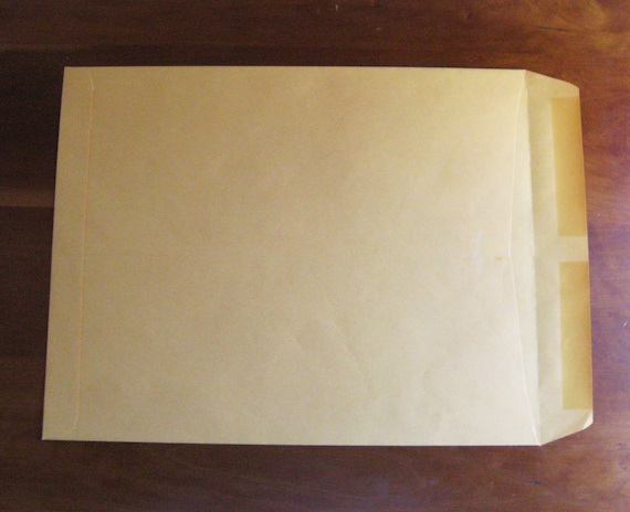 Fifty 11.5 x 14.5 Manila Envelopes for Mailing or Organizing