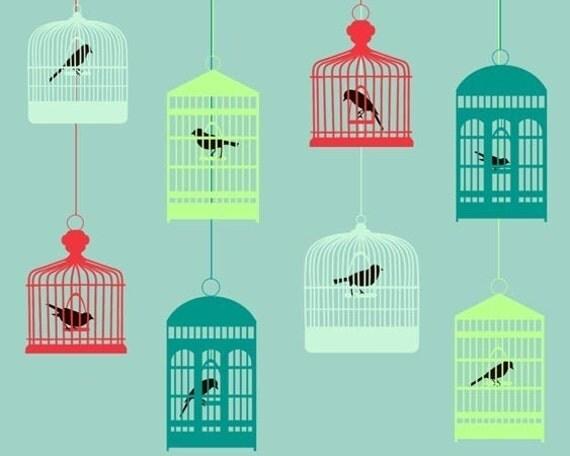 Antique Birdcages - Limited Edition Print