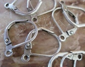 Fabulous Silver Ox Lever Back Earring Wires 465SOX x6