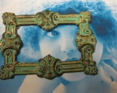 Neo Classical Frame in Hand Aged Verdigris Patina 29VER x1
