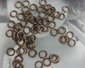 Copper Ox Plated Jump Rings 964COP x75