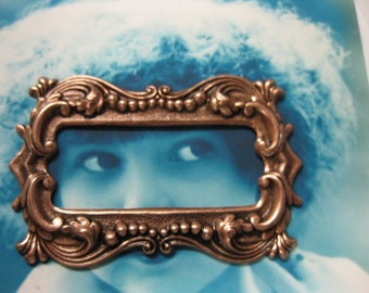 Copper Ox Plated Frame Stamping 25COP x2