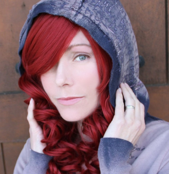 SALE // Auburn Roxy Red Wig // Heat Styleable Layered Curly Long Wig