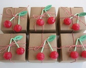Set of 12 Cherry Lollipops from Holland