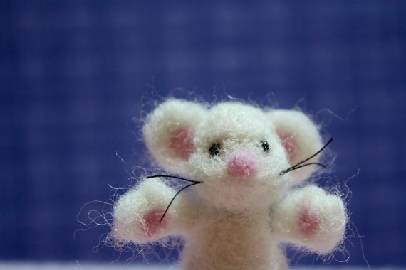 Needle Felted Mr Mouse