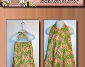 Floral Halter Dress in 3T