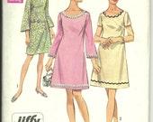 Vintage Simplicity 8265 Jiffy Dress Pattern Size 22 1/2