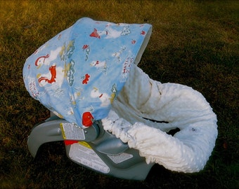 Infant Car Seat Cover,  Baby Car Seat Cover