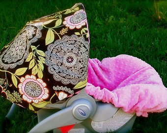 Infant Car Seat Cover, Baby Car Seat Cover in Lacework
