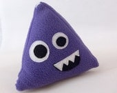 Purple Plush d4 - 4 Sided Role Playing Dice