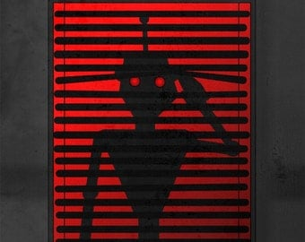 Print - Robots Are Watching You - 8x10