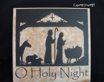 Christmas Nativity in Vinyl