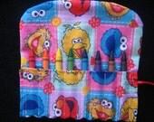 Sesame Street Characters Travel Crayon Holder