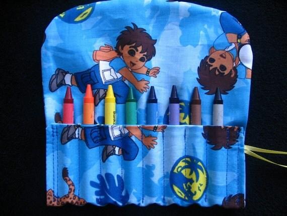 Diego Travel Crayon Holder