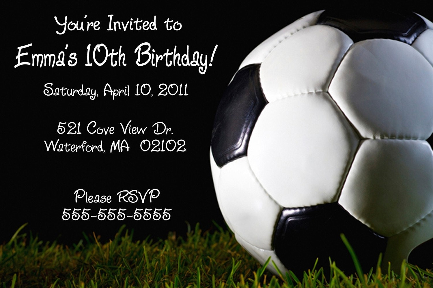 Dynamic image with regard to soccer invitations printable free