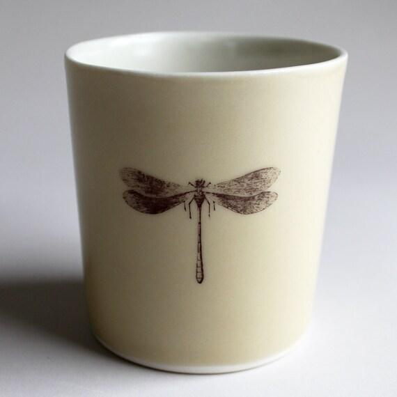 dragonfly tumbler, 14oz, in warm gray