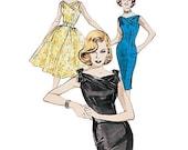 Retro 1960 Butterick Mad Men Sheath Dress Pattern Sizes 18-22