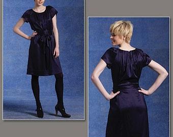 DKNY Dress Pattern Vogue 1120 Sizes 6-12 Donna Karan New York Sewing Pattern