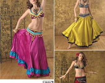 Belly Dancer Costume Pattern Simplicity 2158