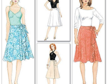 McCall's 5430 Easy Wrap Skirt Pattern