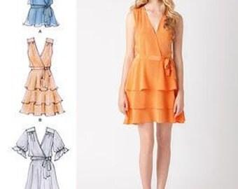 Cynthia Rowley Ruffle Dress and Top Pattern Simplicity 1872