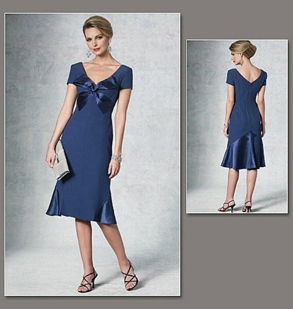 Vogue 1196 Bellville Sassoon Cocktail Dress Pattern