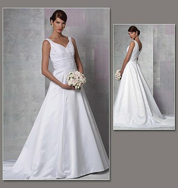 Vogue Bridal Original 1163 Wedding Gown Pattern