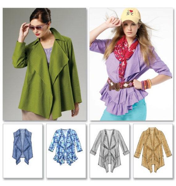 Drape Jacket Pattern Jacket And Vest Pattern With