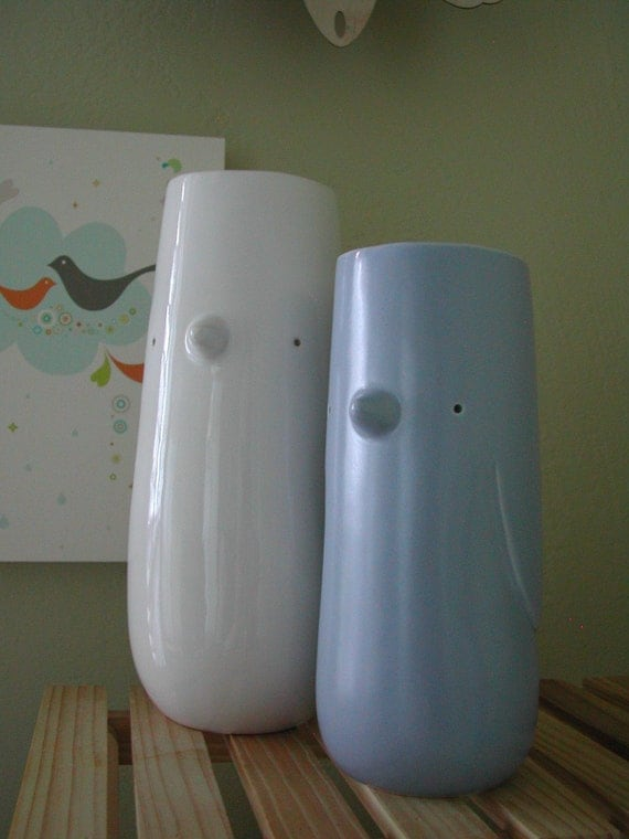duo - bird vases