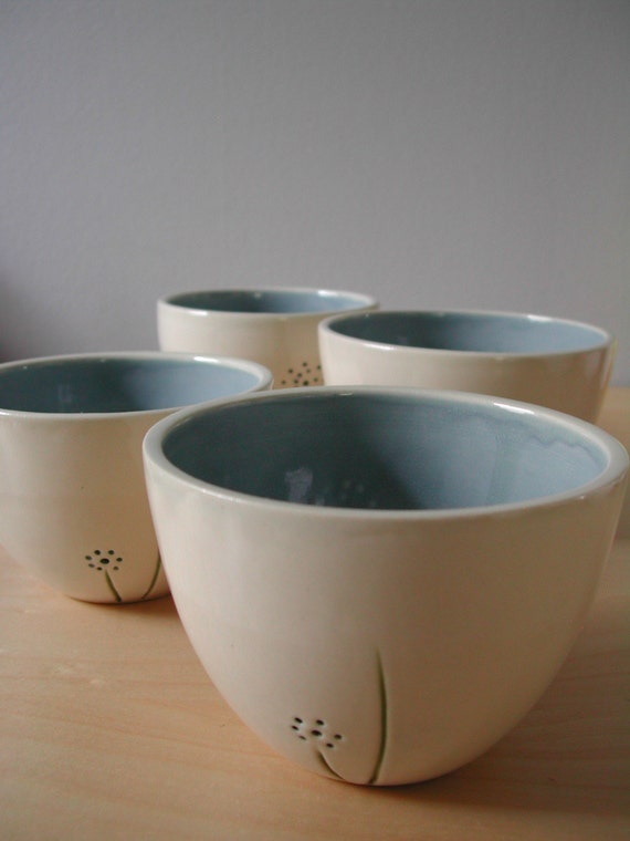 dandelion - small bowls set of 4