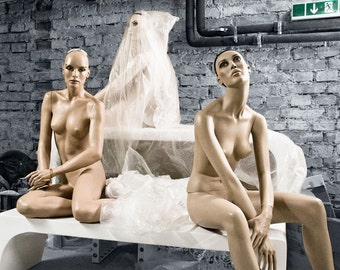 Mannequin Photography Art Female Nude Art Print Fashion Still Life - Anytime Anywhere