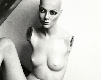 Black and White Nude Mannequin Photography Mannequin Art Secret Society No8