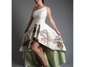 Serpent Circle Dress 100 percent Recycled fabric