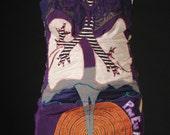 Pneuma Art Dress Recycled Vintage Slip